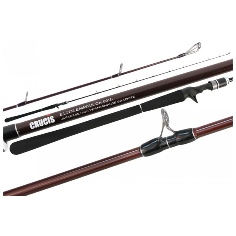 Crucis Elite Empire Japanese Popper and Jig Casting Rod - Rods - Spin | Addict Tackle