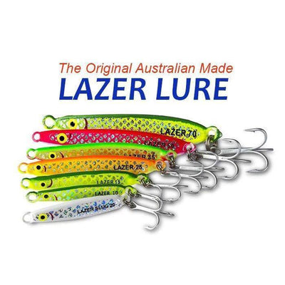 Lazer Lures Metal Lure Australian Made | 20g - Lures and Jigs - Metal | Addict Tackle