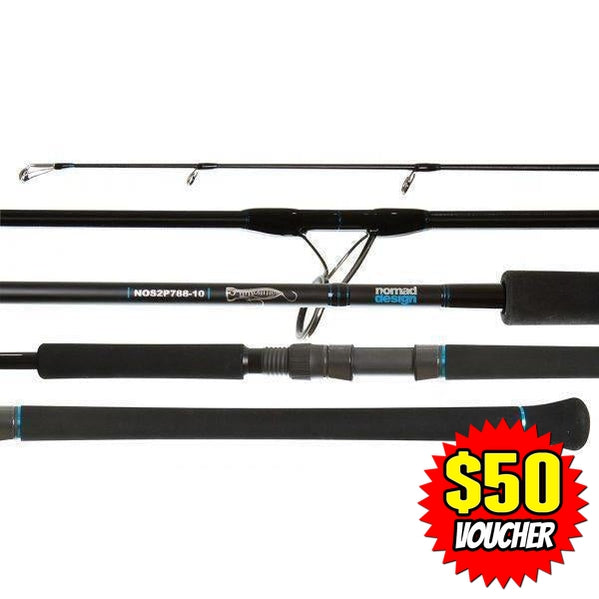 Nomad Design Offshore Spin Popping Rods