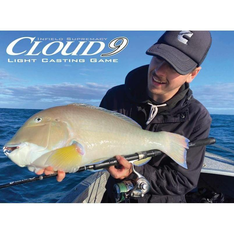 Oceans Legacy Cloud 9 Spin - Rods - Spin | Addict Tackle
