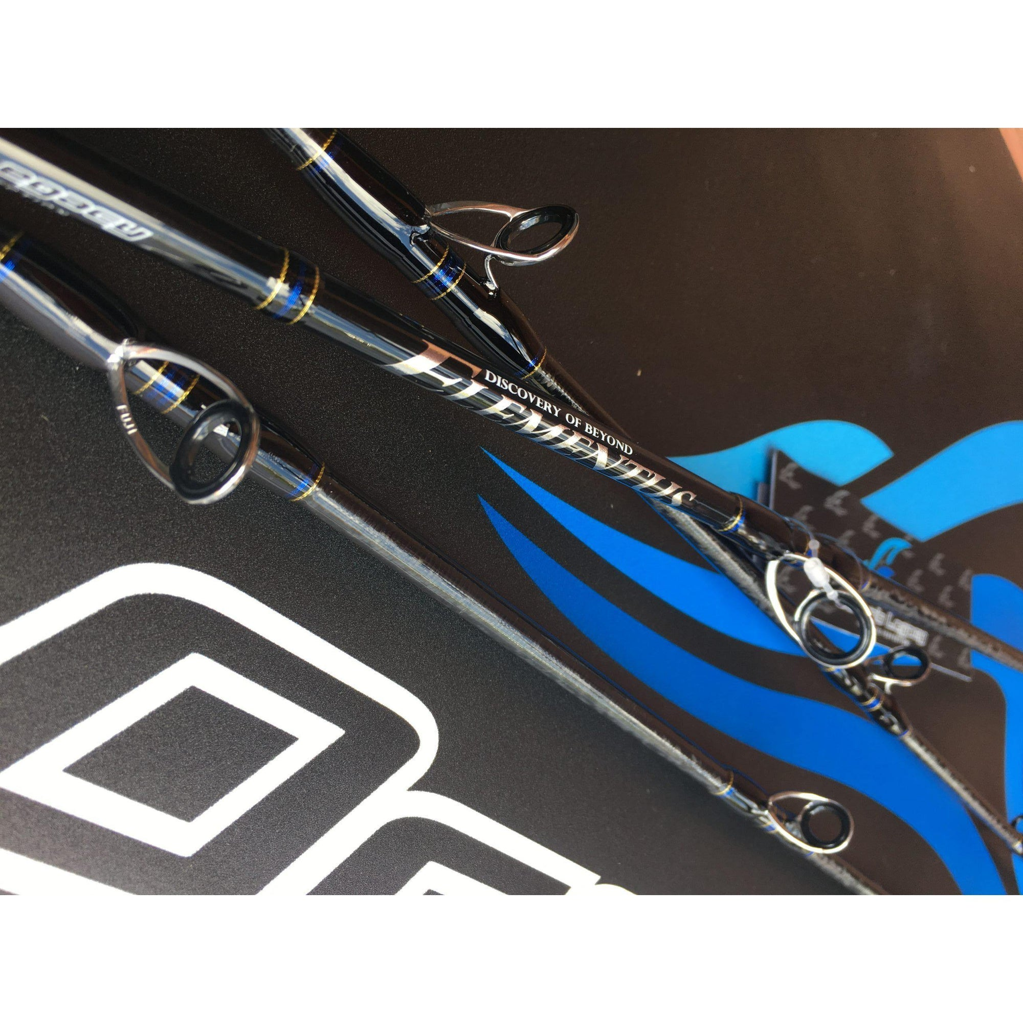 Oceans Legacy Elementus Over Head Jig Rod - Rods - Jig | Addict Tackle