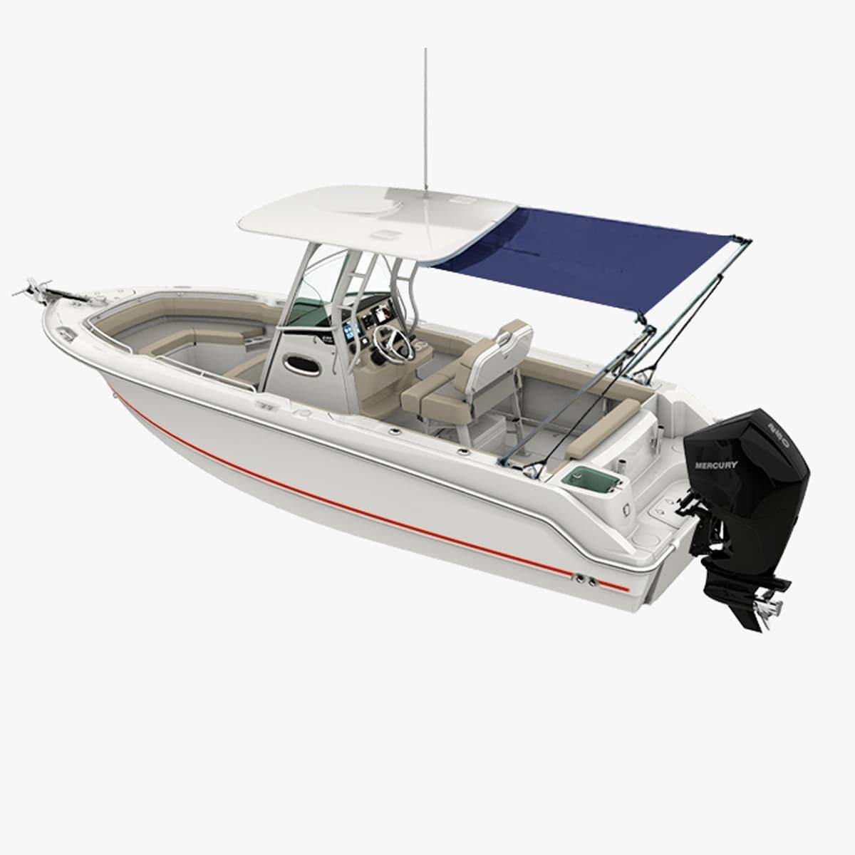 Oceansouth T-Top Extension/Stern Shade Kit