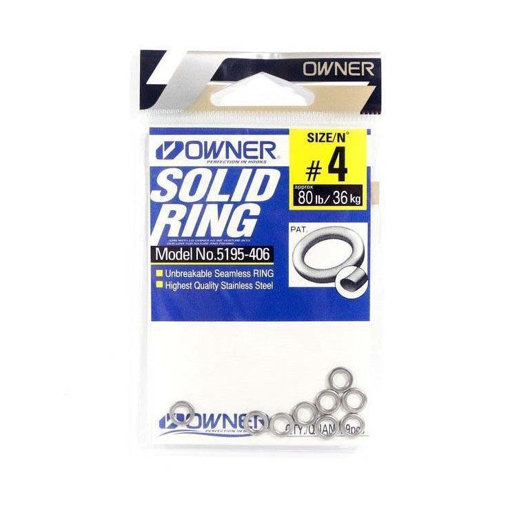 Owner 5195 Solid Rings-Addict Tackle