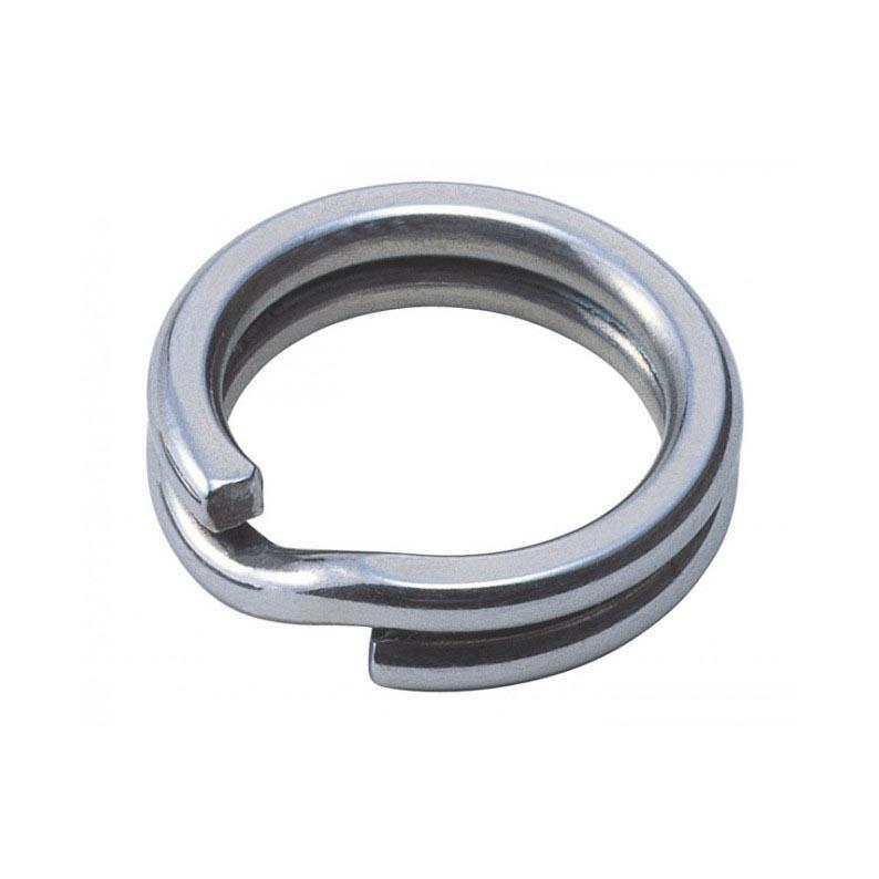 Owner P12 Heavy Duty Stainless Steel Split Rings-Addict Tackle