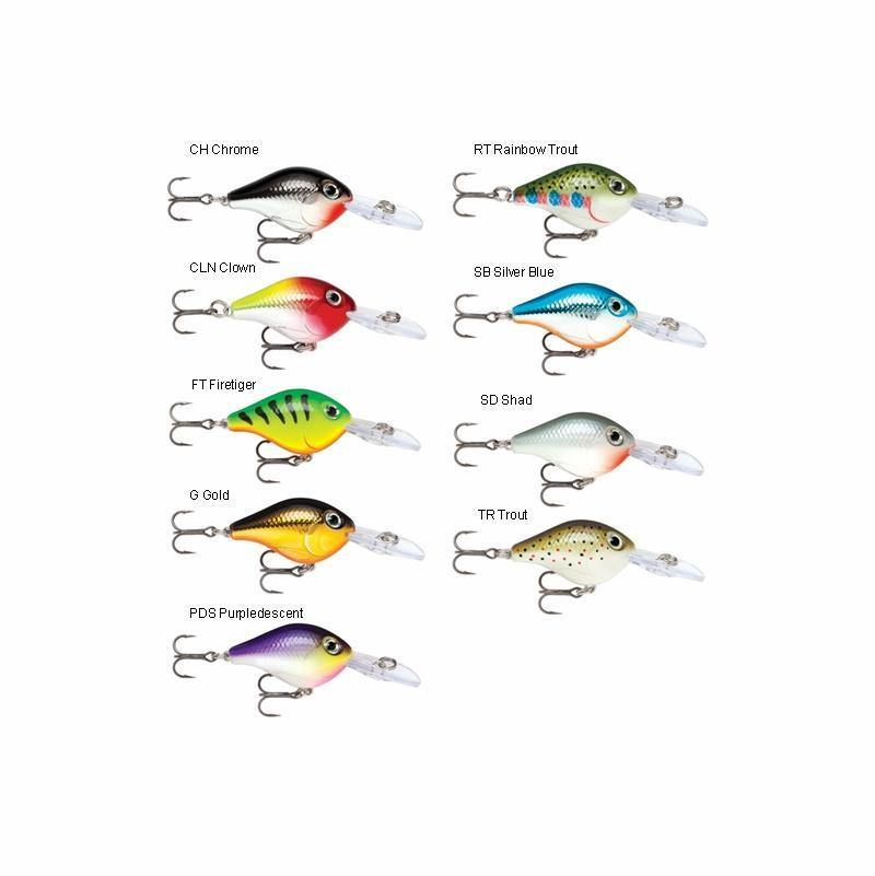 Rapala Ultra Light Crank 3cm Hard Body Lure-Addict Tackle