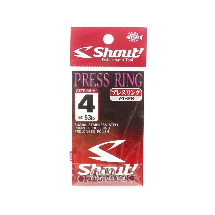 Shout 74-PR Press Rings-Addict Tackle