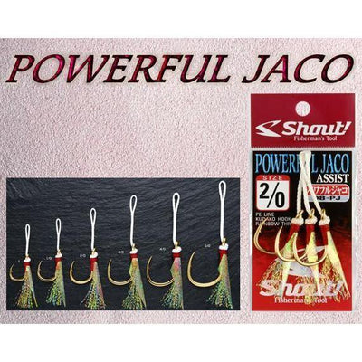 Shout Powerful Jaco Hook