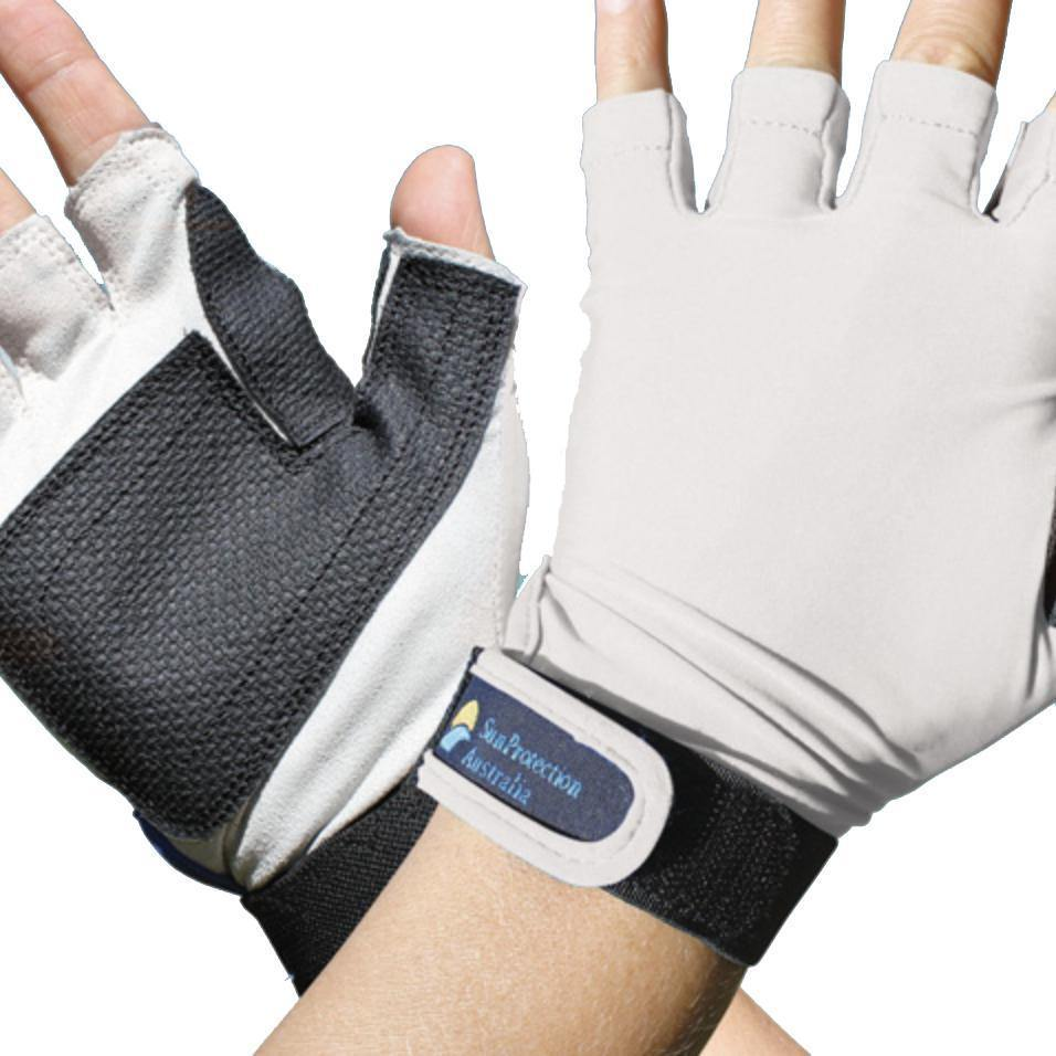 Sun Protection Fingerless Sports Gloves-Addict Tackle