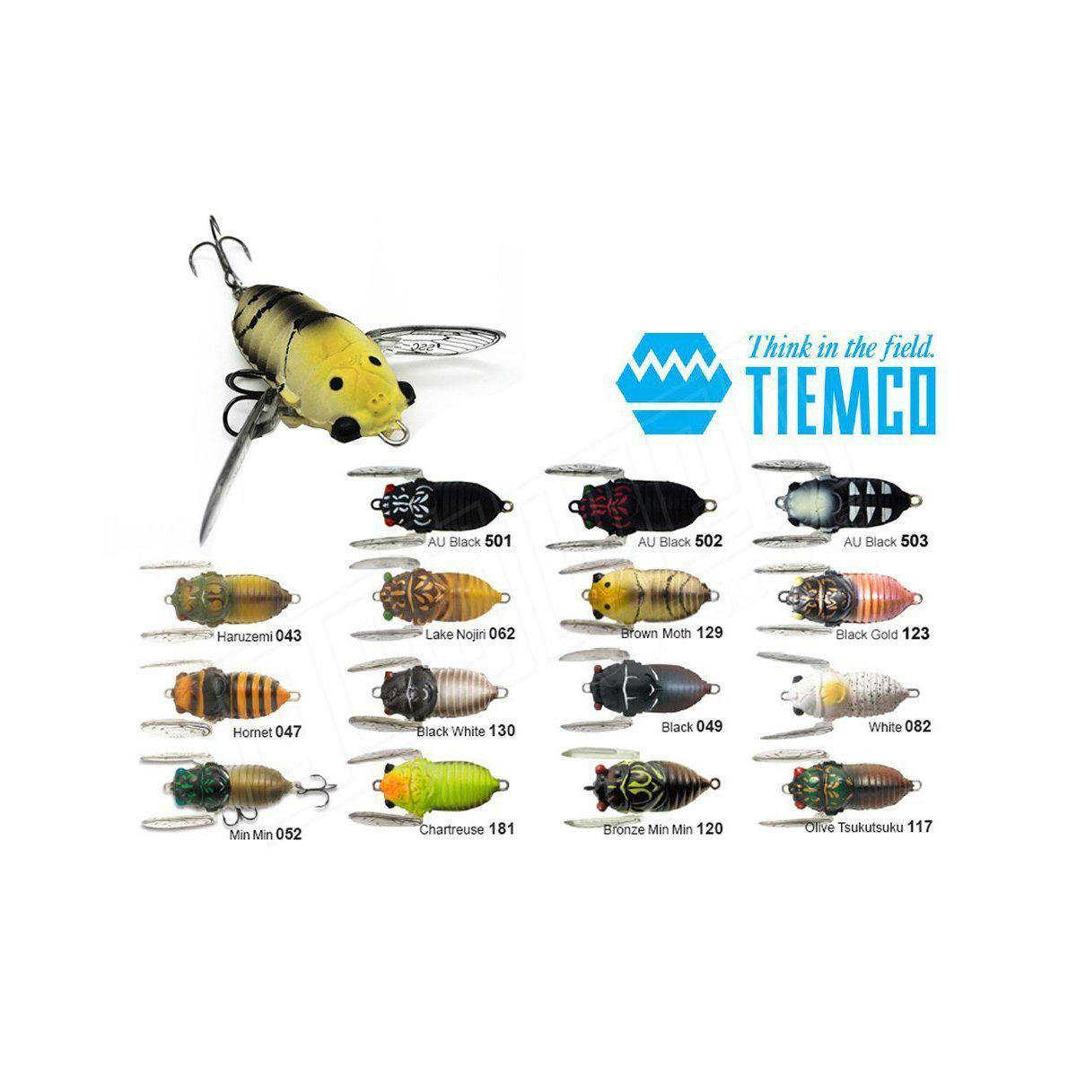Tiemco Soft Shell Cicada Hard Body Lure-Addict Tackle