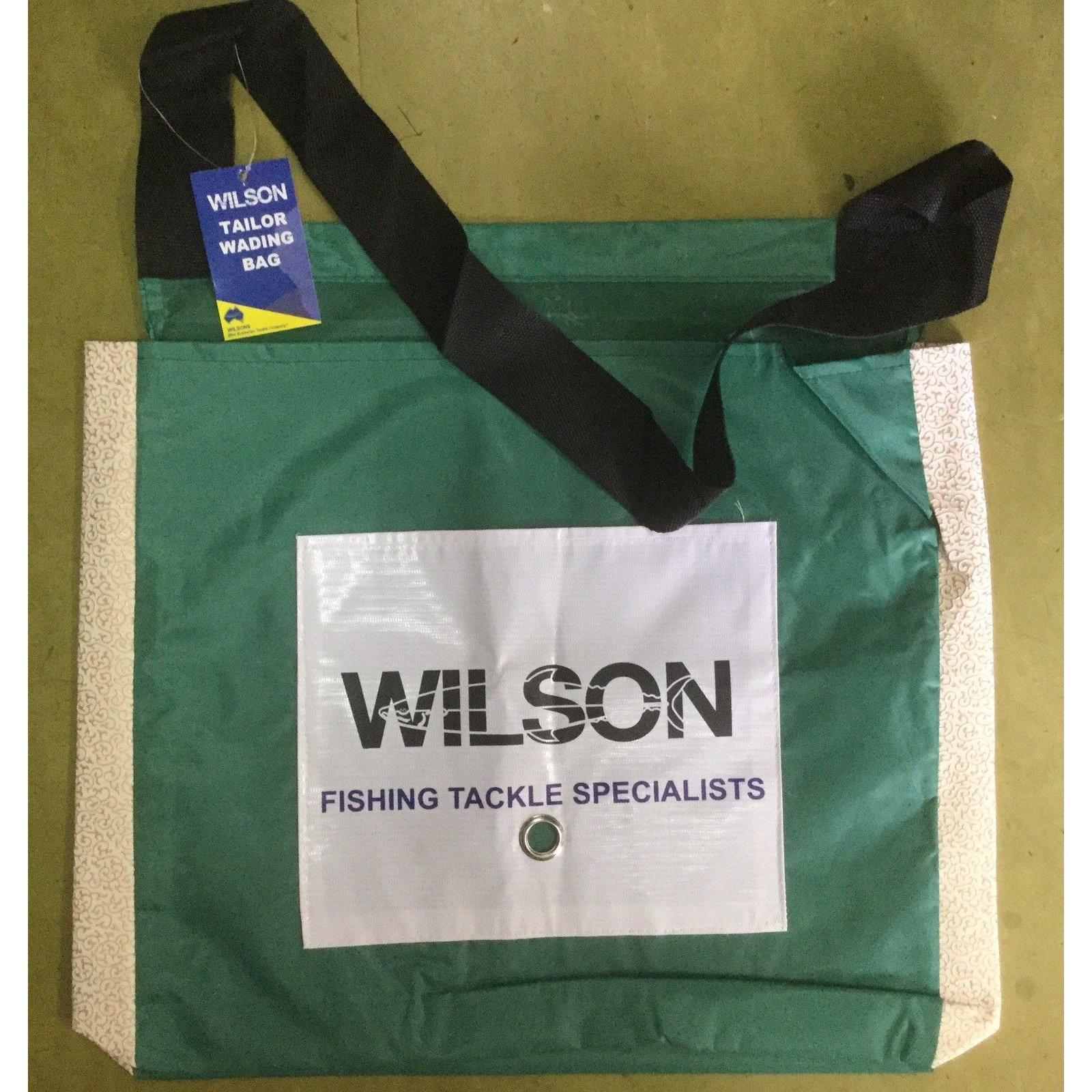 Wilson Green Poly Wading Bag-Addict Tackle