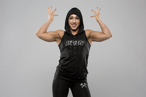 Driwear Sleeveless Hoodie - Iron Essential