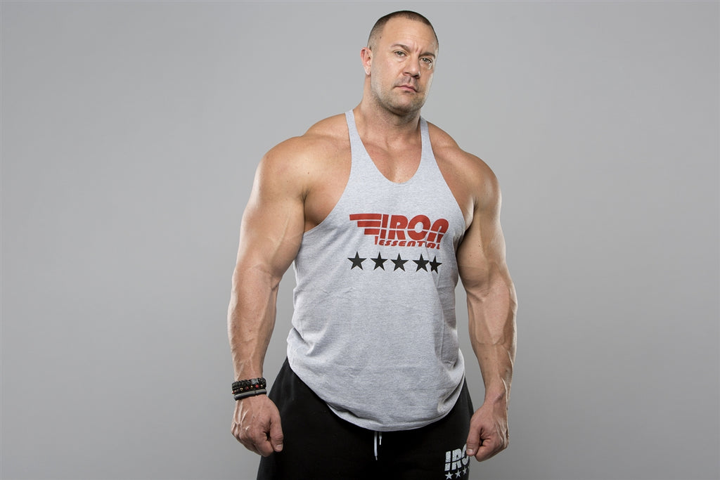 Stringer Tank - Iron Essential