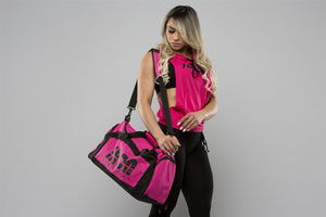 Pink Gym Bag - Iron Essential
