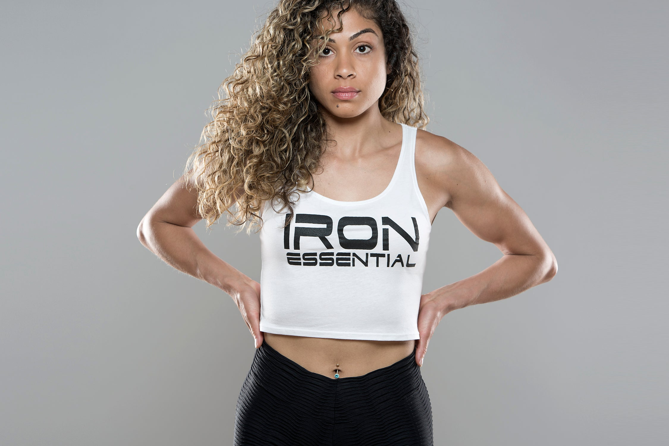 Iron Essential Crop Top