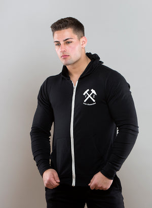 Unisex Lightweight Zip Up - Iron Essential