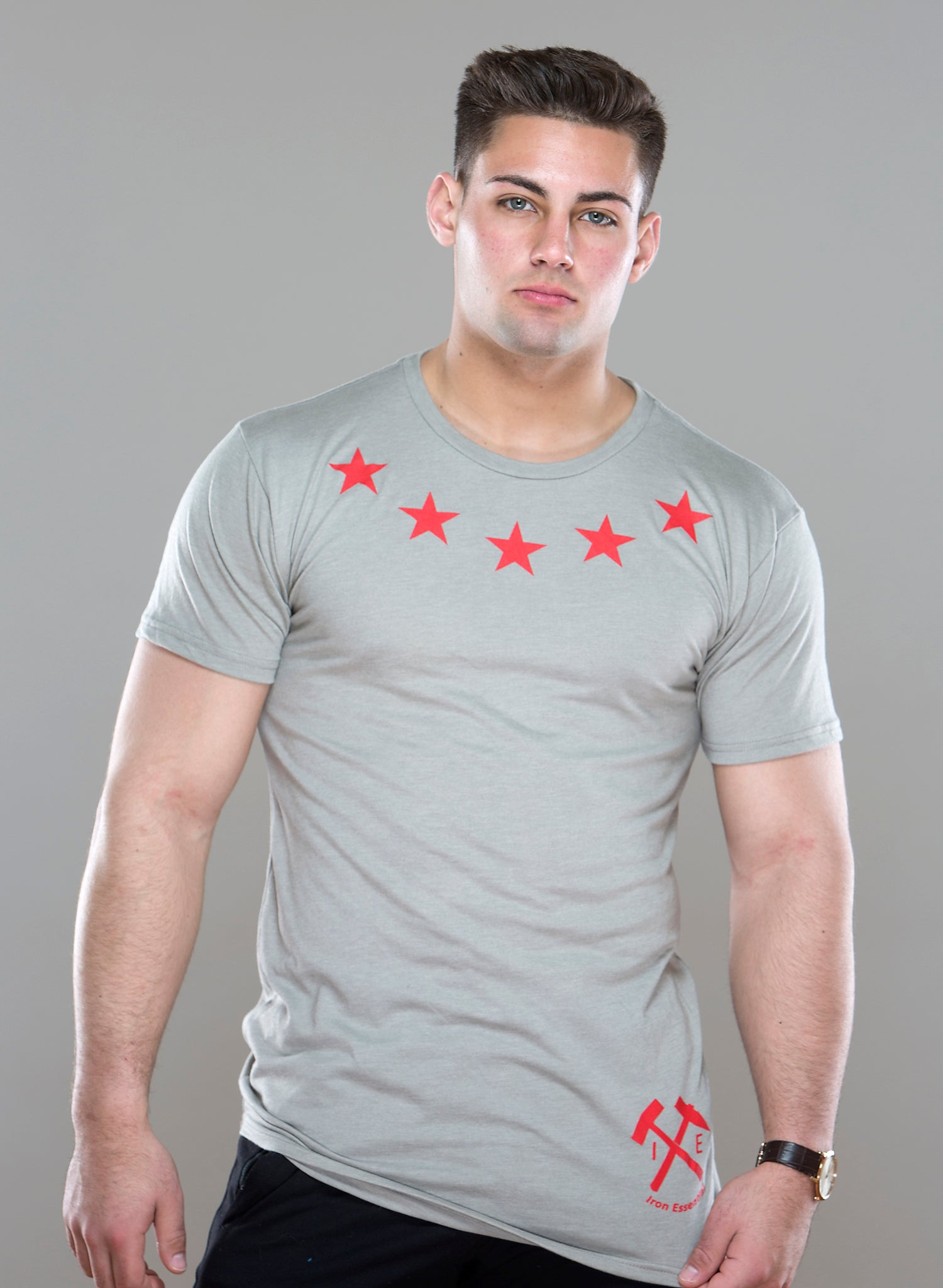 Five Star Urban Tee - Iron Essential