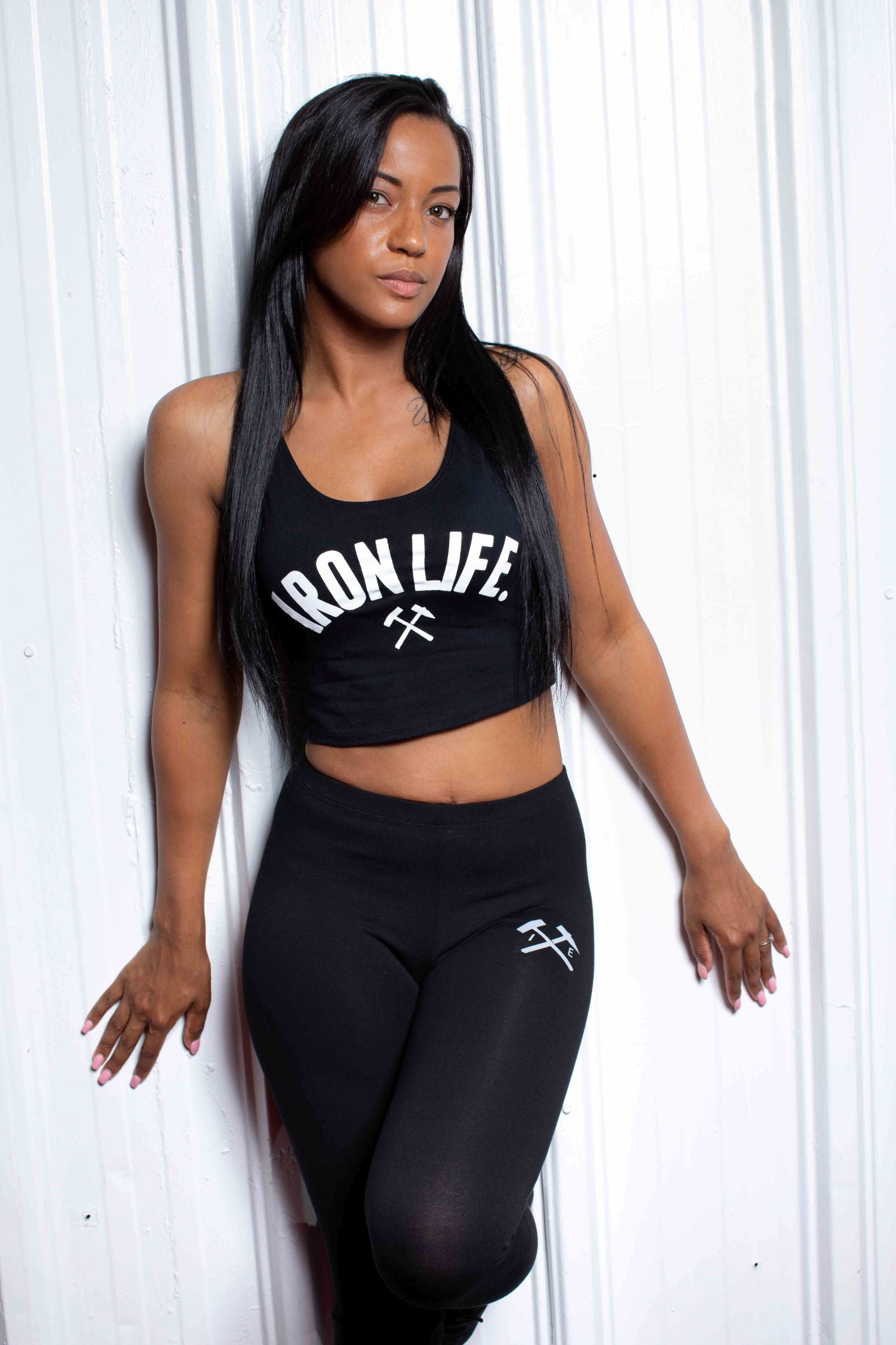 IronLife Crop Top - Iron Essential