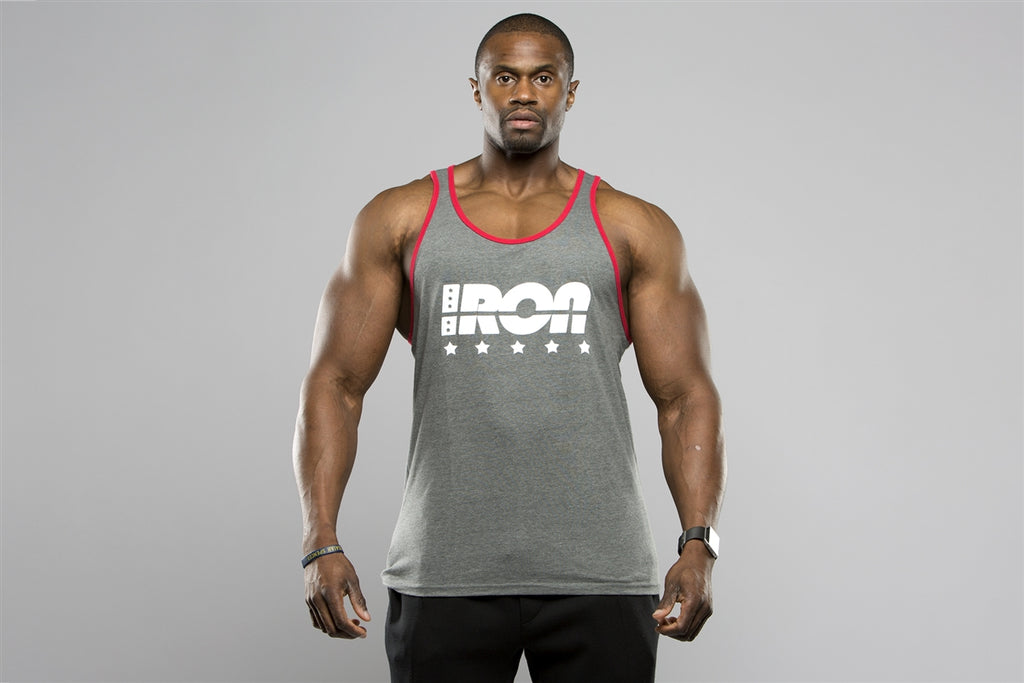 Two Tone Tank - Iron Essential