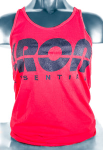Red Iron Tank Tops