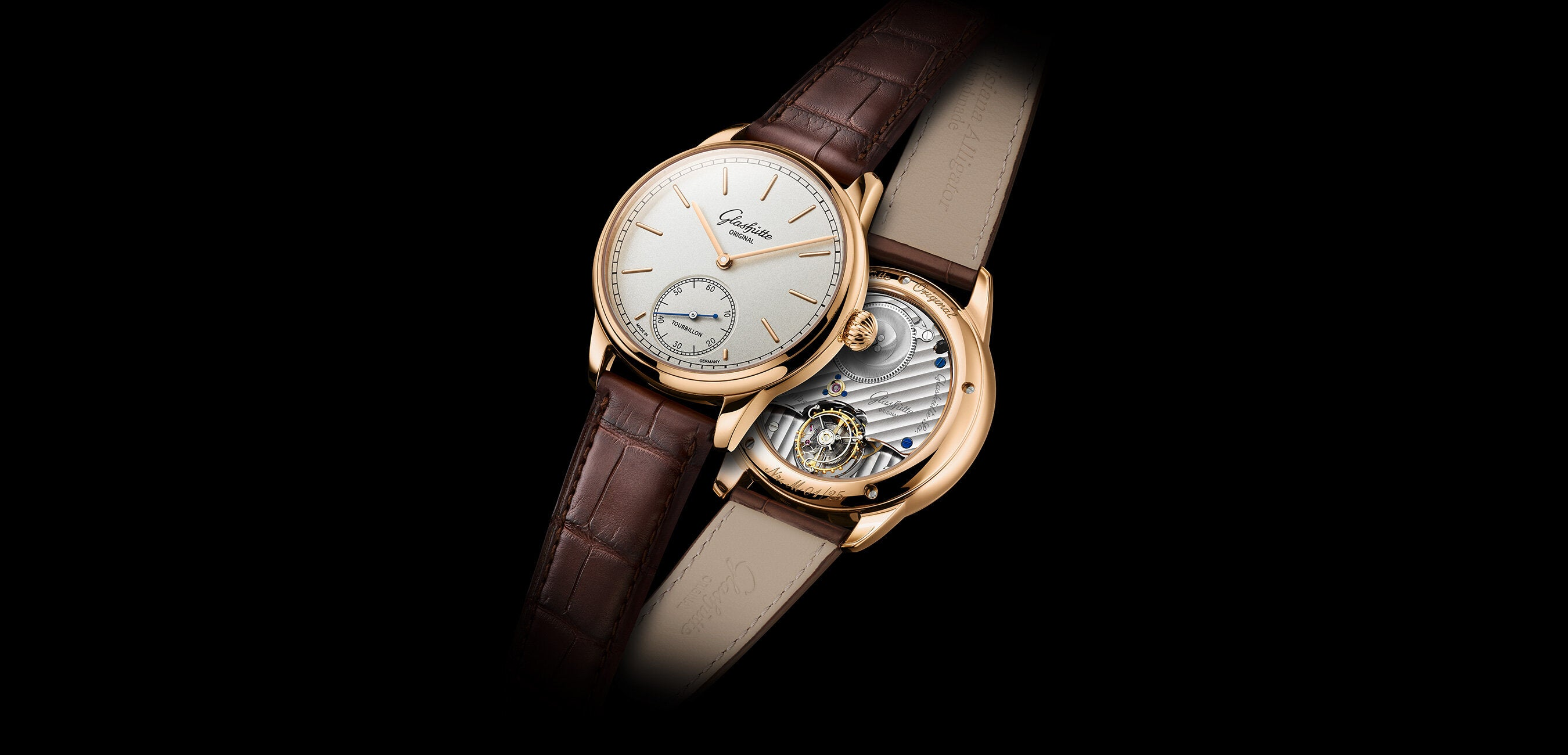 Tribute to a genius in the Glashütte art of watchmaking