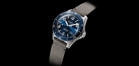 SeaQ revives tradition of diver's watches made in Glashütte