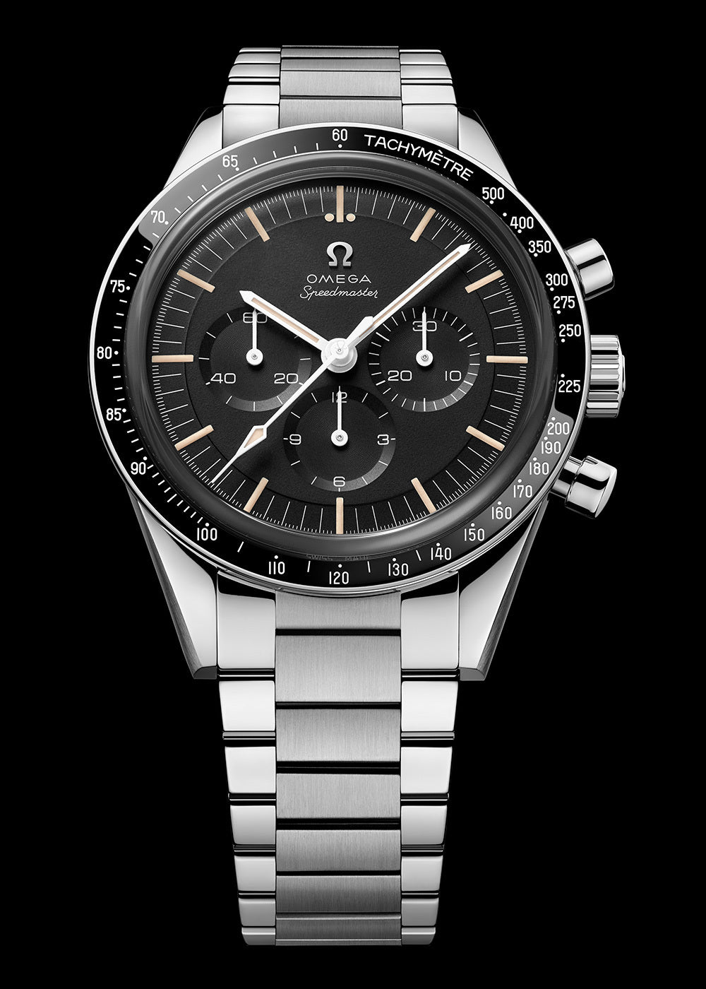 THE 321 POWERS ON! OMEGA's legendary Calibre is the driving force behind another Moonwatch – This time in Steel.