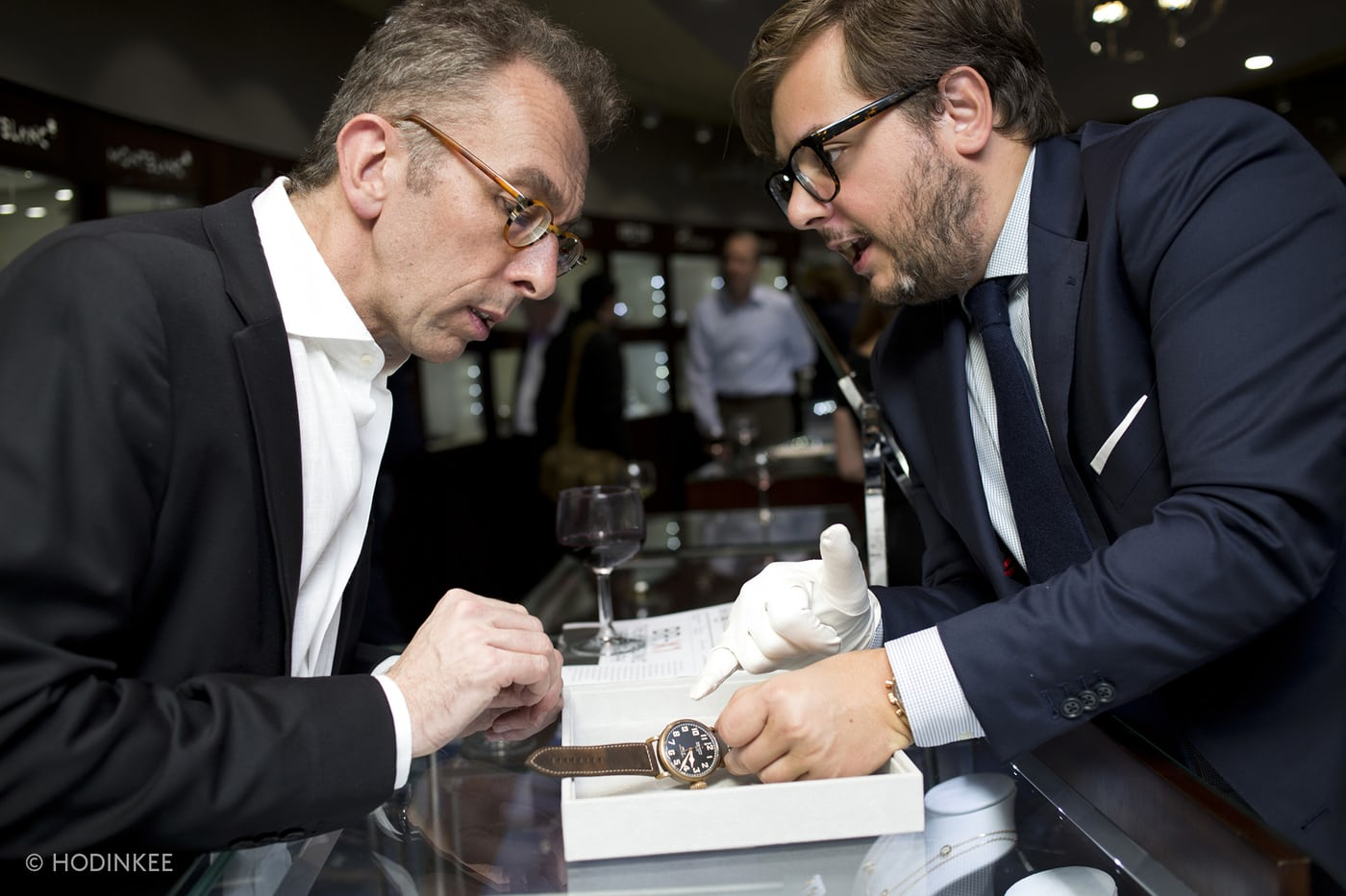 Manfredi Jewels Customers Photo by Hodinkee