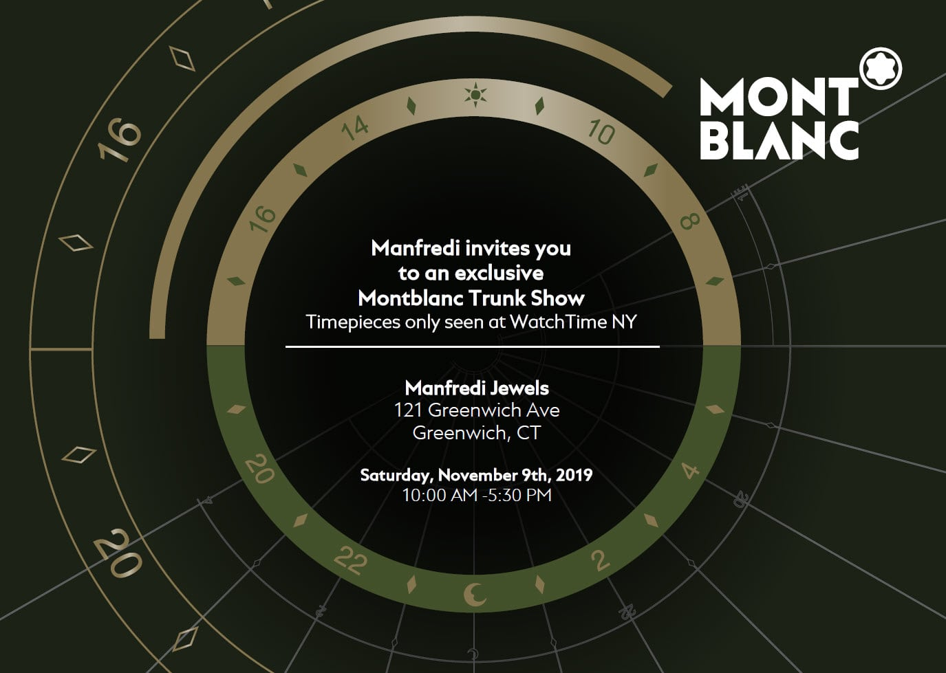 Montblanc Trunk Show at Manfredi Jewels
