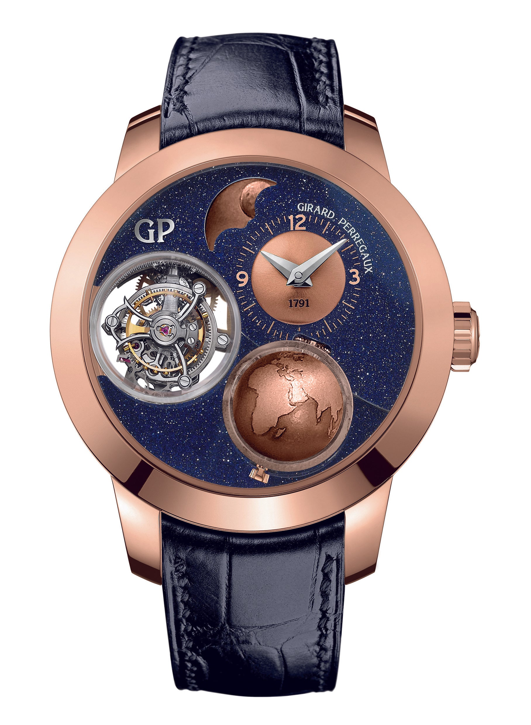 Girard Perregaux Planetarium Tri-Axial Tourbillon Dance of the cosmos