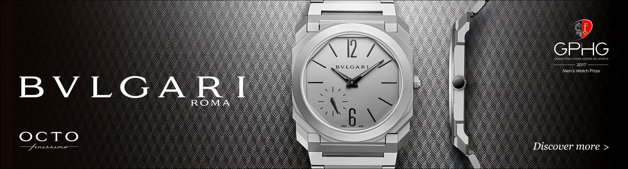 Bulgari watches Manfredi