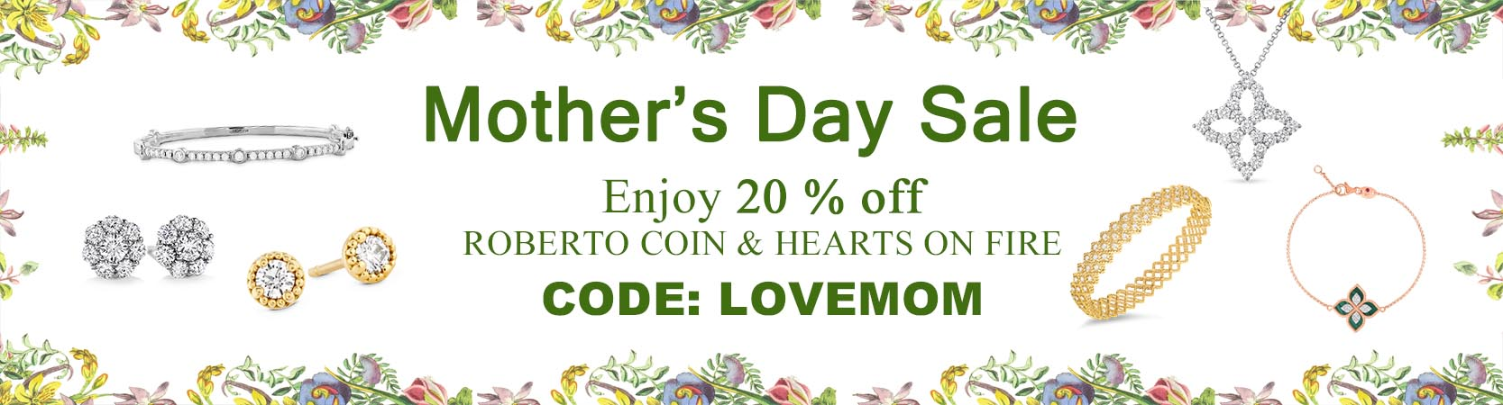 Mother's Day Sale at Manfredi Jewels
