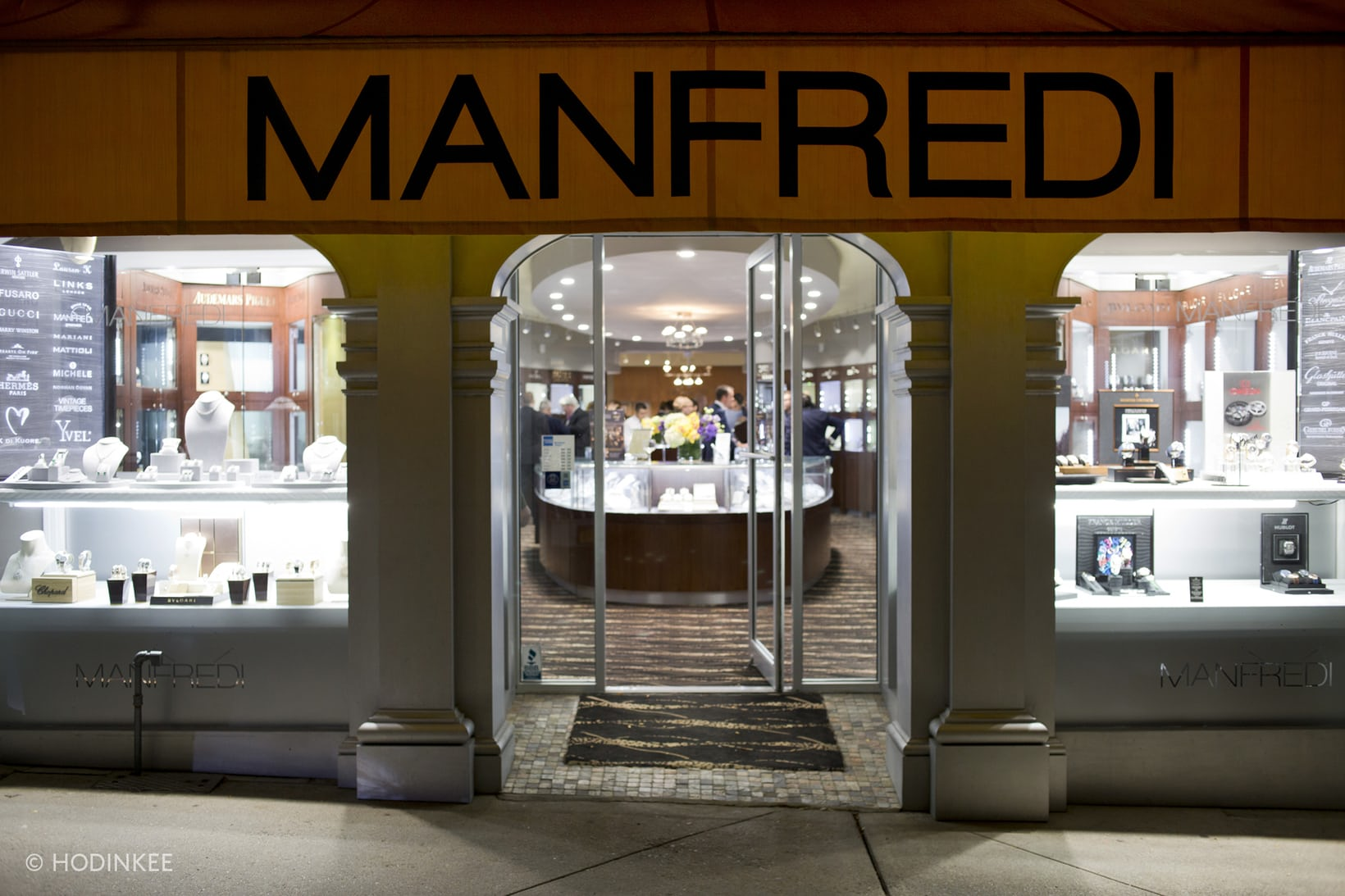 Manfredi Jewels Store Front Photo by Hodinkee
