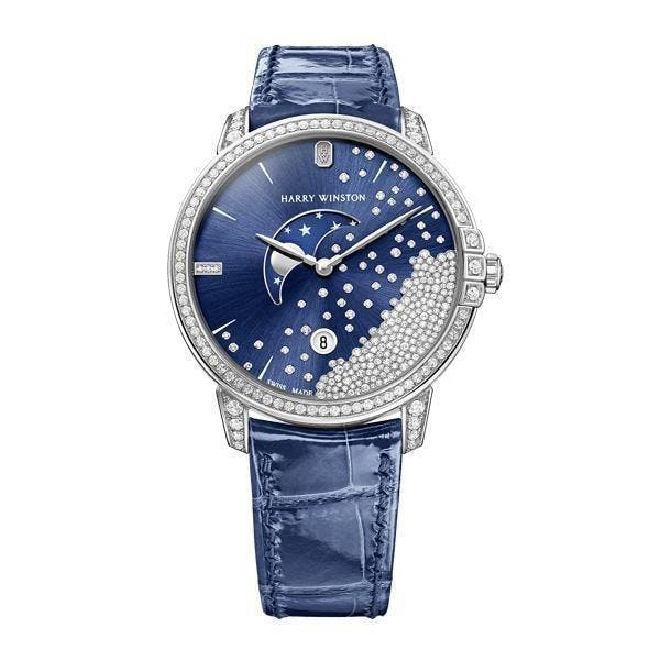 Harry Winston Midnight Diamond Drops