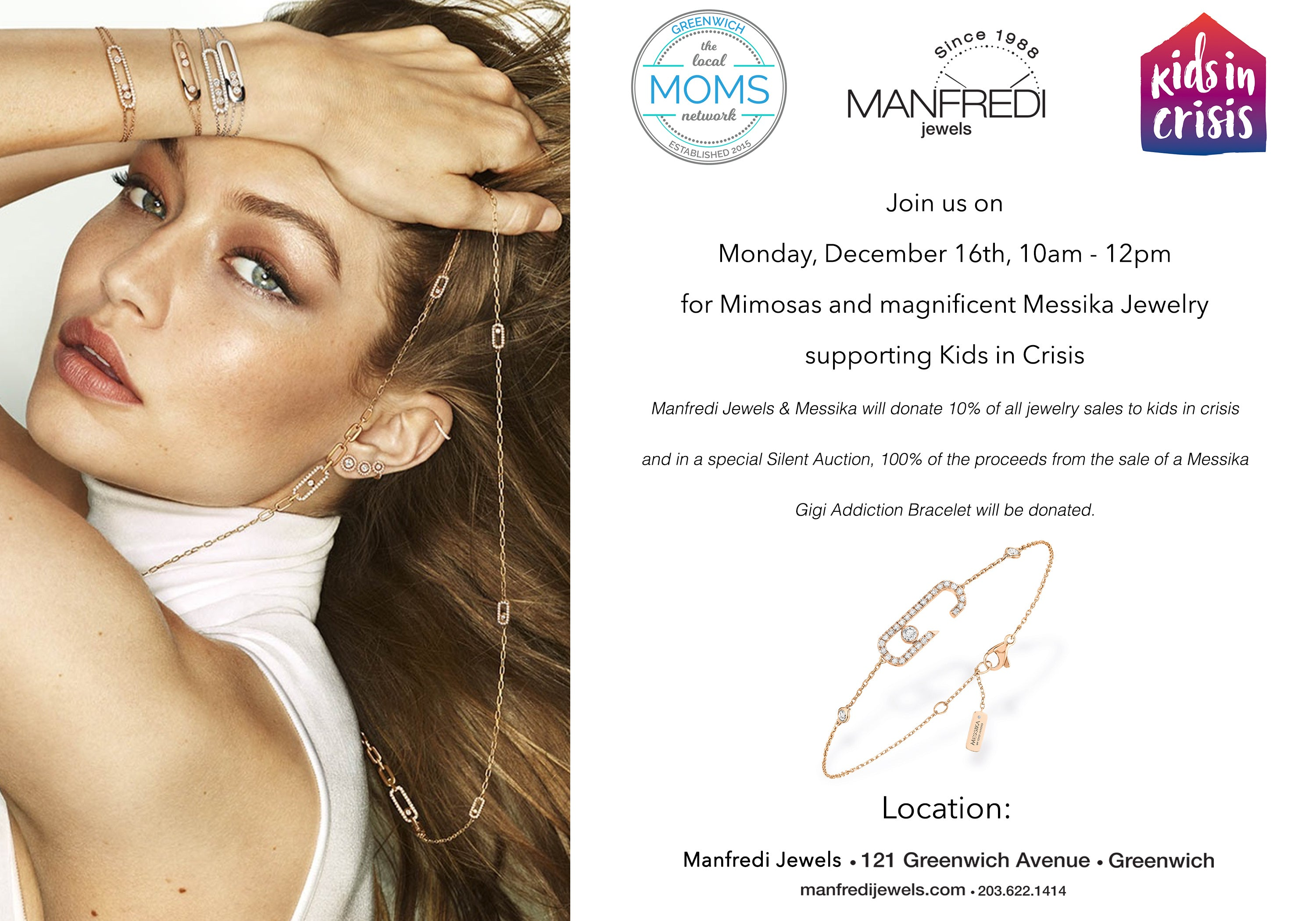 Join us for Mimosas and magnificent Messika Jewelry