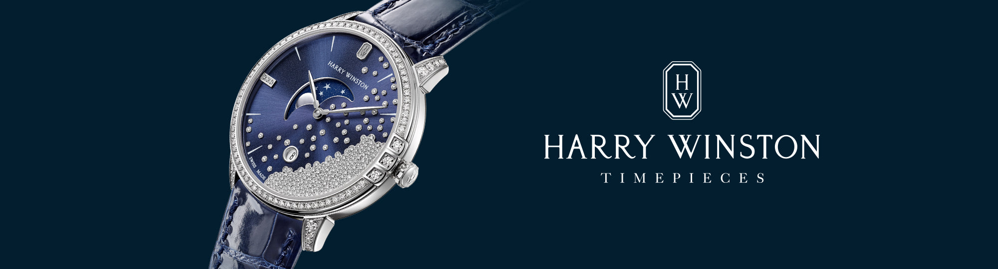 Manfredi Jewels is an Authorized Harry Winston Dealer.