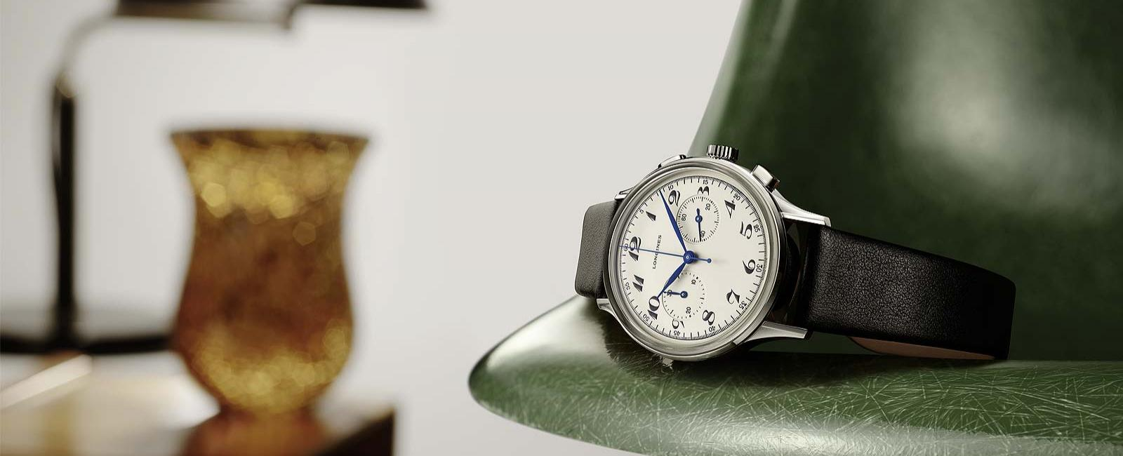 LONGINES BREATHES LIFE BACK INTO AN ELEGANT TIMEPIECE FROM THE LATE 1940S: THE LONGINES HERITAGE CLASSIC CHRONOGRAPH 1946