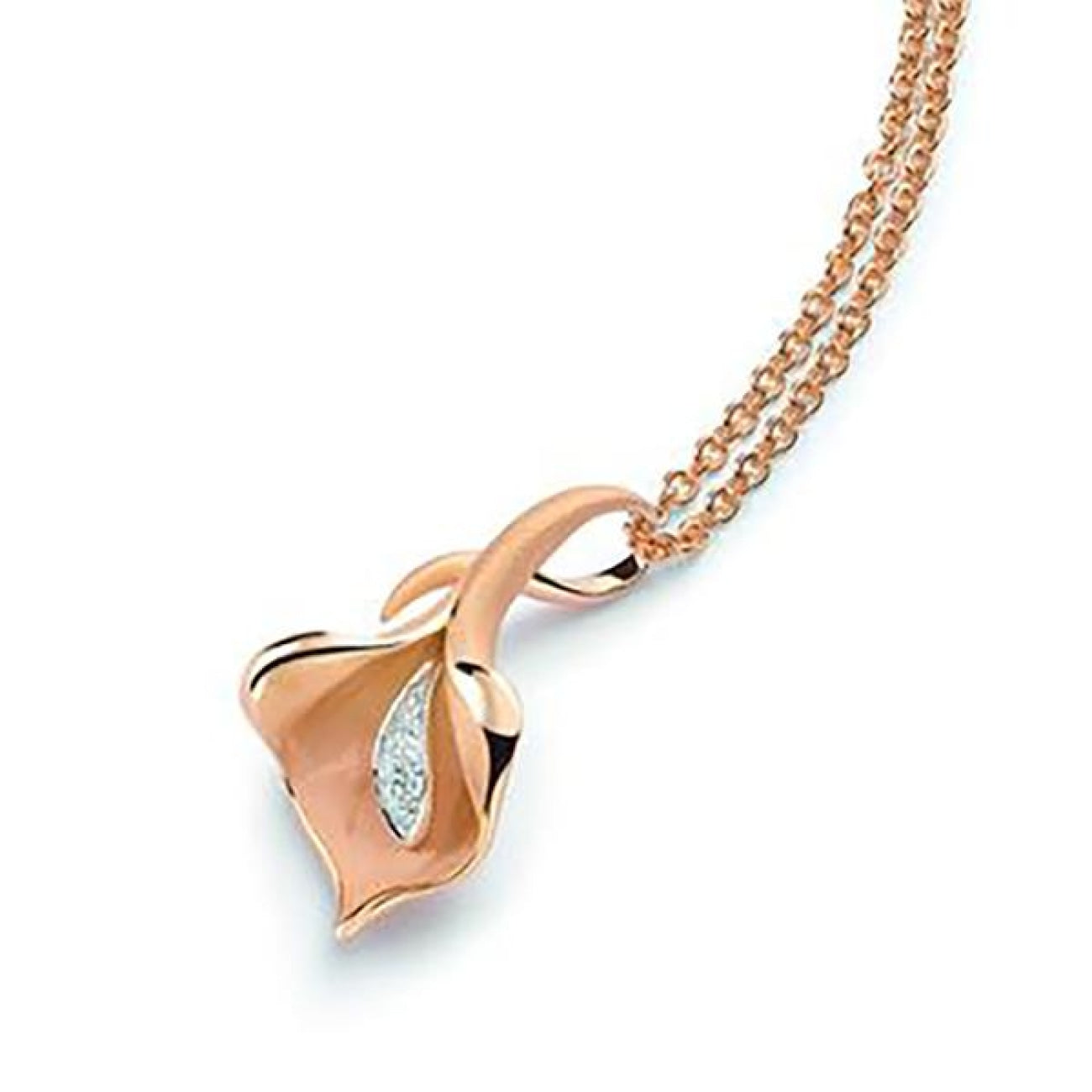 Anna Maria Cammilli Jewelry - Calla Lilly Large Necklace | Manfredi Jewels
