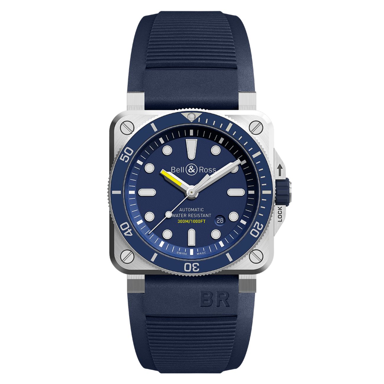 Bell & Ross Watches - BR 03-92 DIVER BLUE | Manfredi Jewels