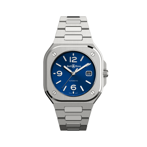 Bell & Ross Watches - BR 05 BLUE STEEL | Manfredi Jewels