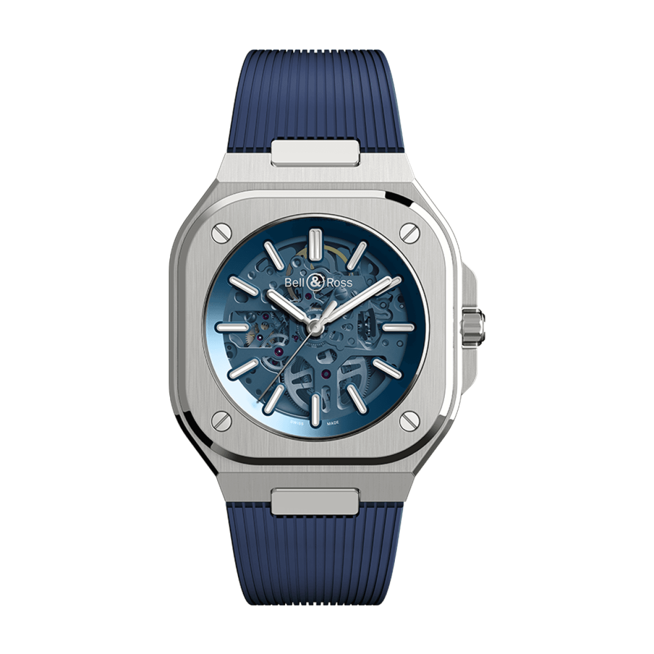 Bell & Ross Watches - BR 05 SKELETON BLUE | Manfredi Jewels