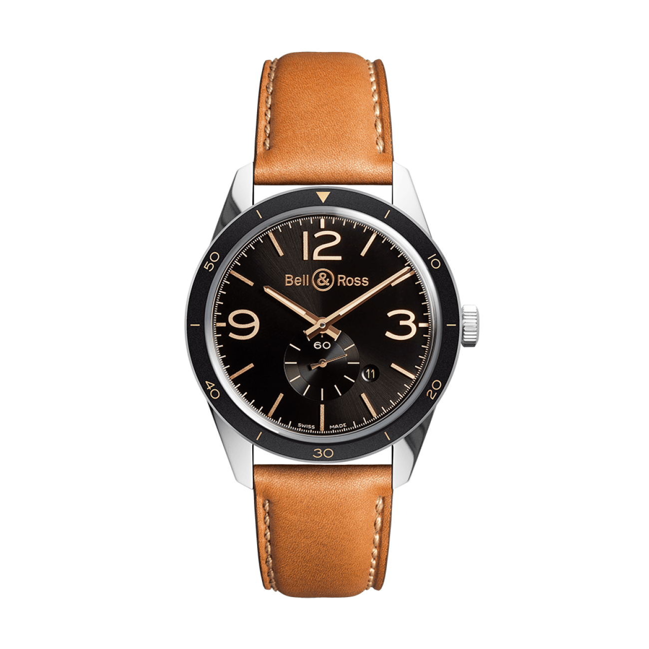 Bell & Ross Watches - BR 123 GOLDEN HERITAGE | Manfredi Jewels
