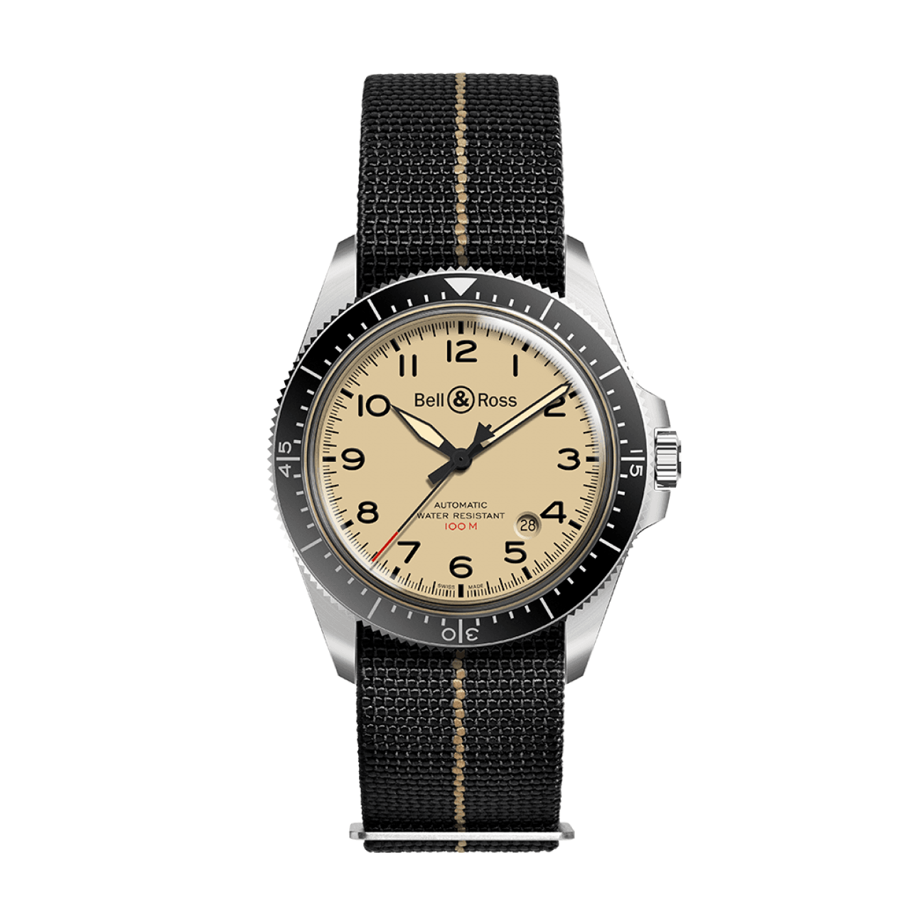 Bell & Ross Watches - BR V2-92 MILITARY BEIGE | Manfredi Jewels