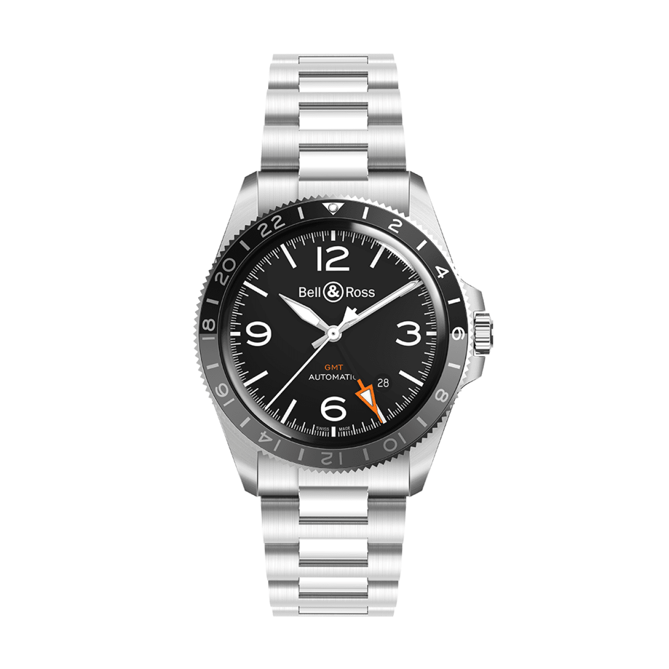 Bell & Ross Watches - BR V2-93 GMT | Manfredi Jewels