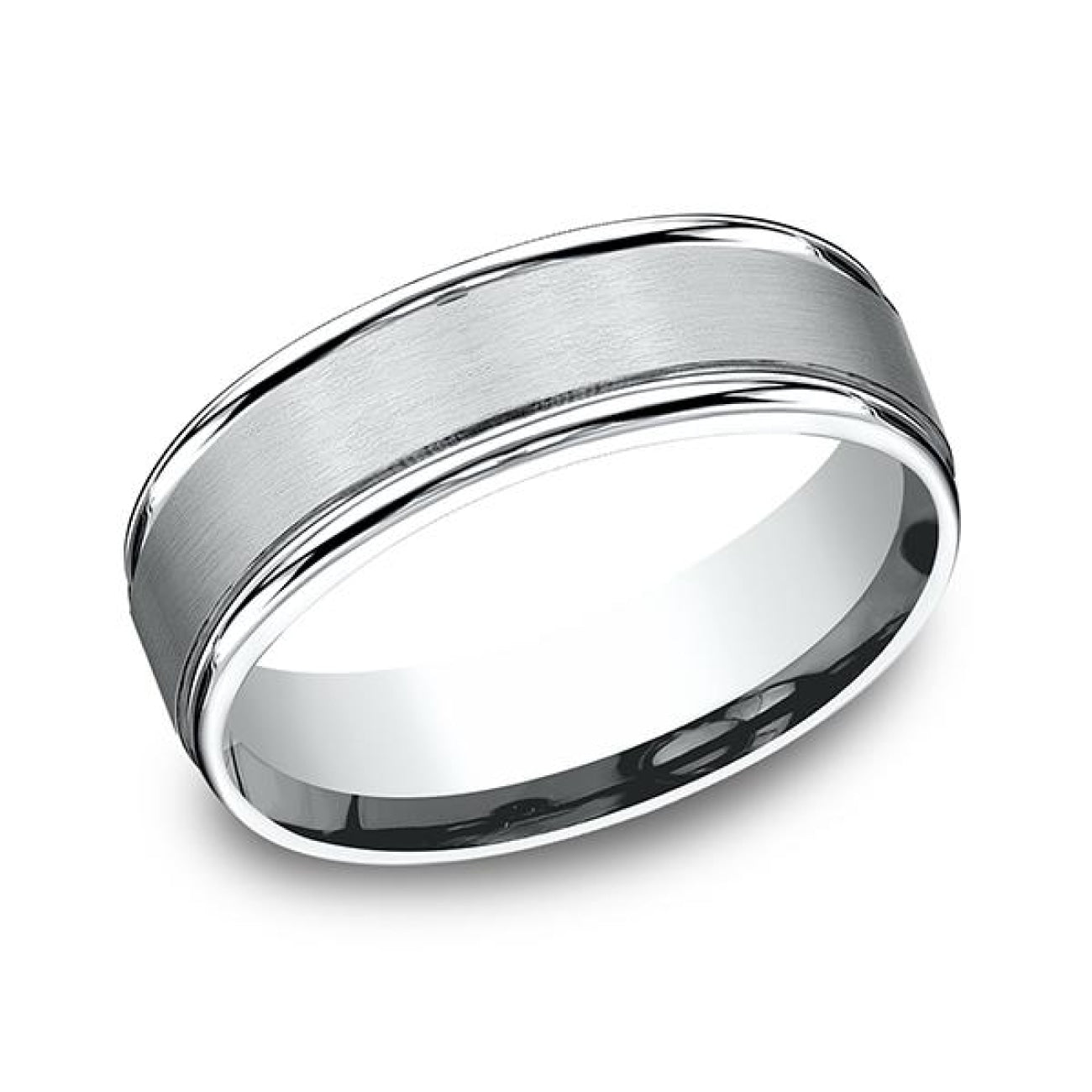 Benchmark Engagement - Comfort-Fit Design Wedding Band | Manfredi Jewels