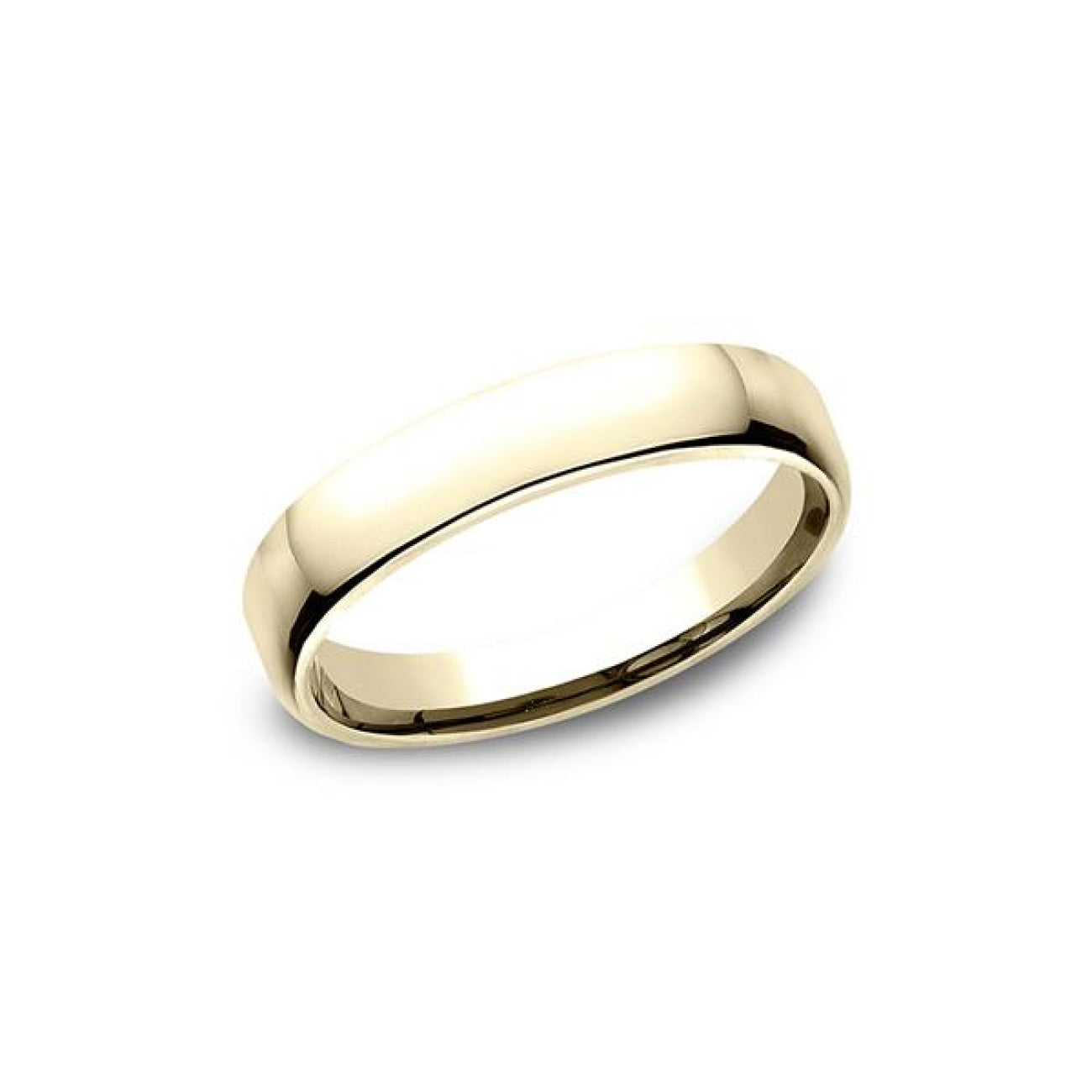 Benchmark Engagement - European Comfort-Fit Wedding Ring | Manfredi Jewels