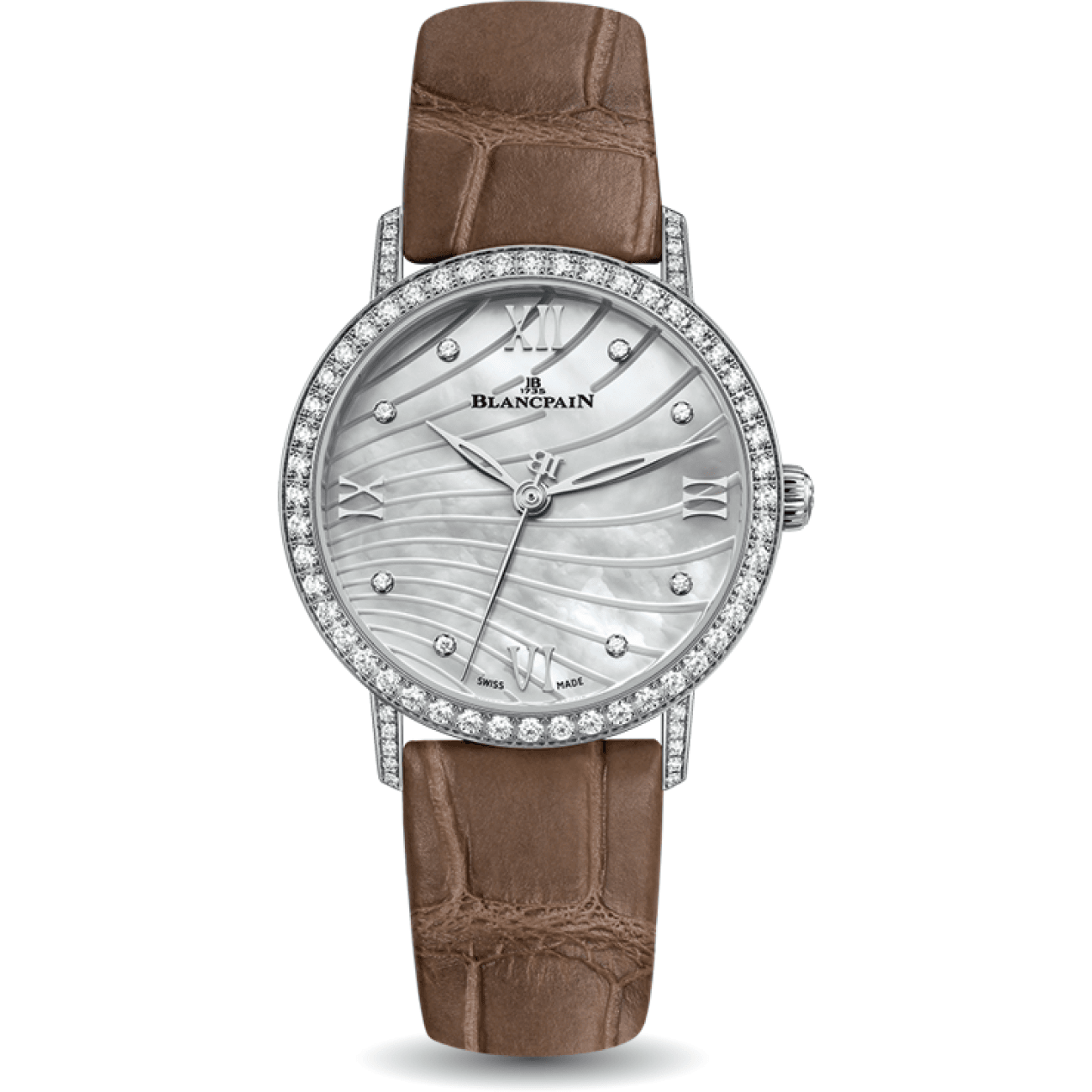 Blancpain Watches - Blancpain Ultra - slim Wave Mop Dial | Manfredi Jewels