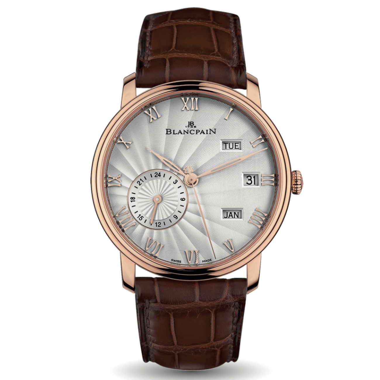 Blancpain Watches - Blancpain VILLERET ANNUAL CALENDER GMT | Manfredi Jewels