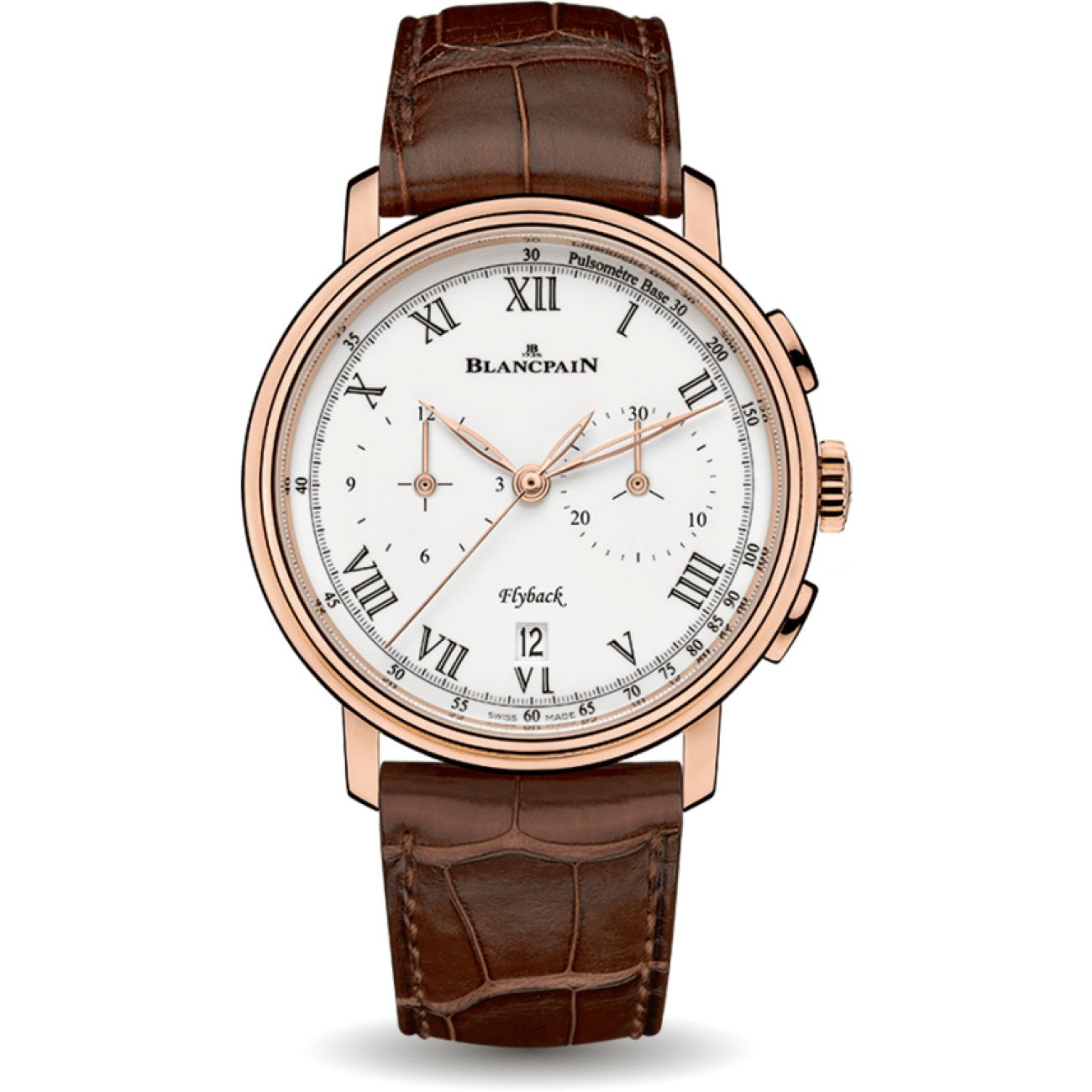Blancpain Watches - Blancpain VILLERET PULSOMETER FLYBACK | Manfredi Jewels