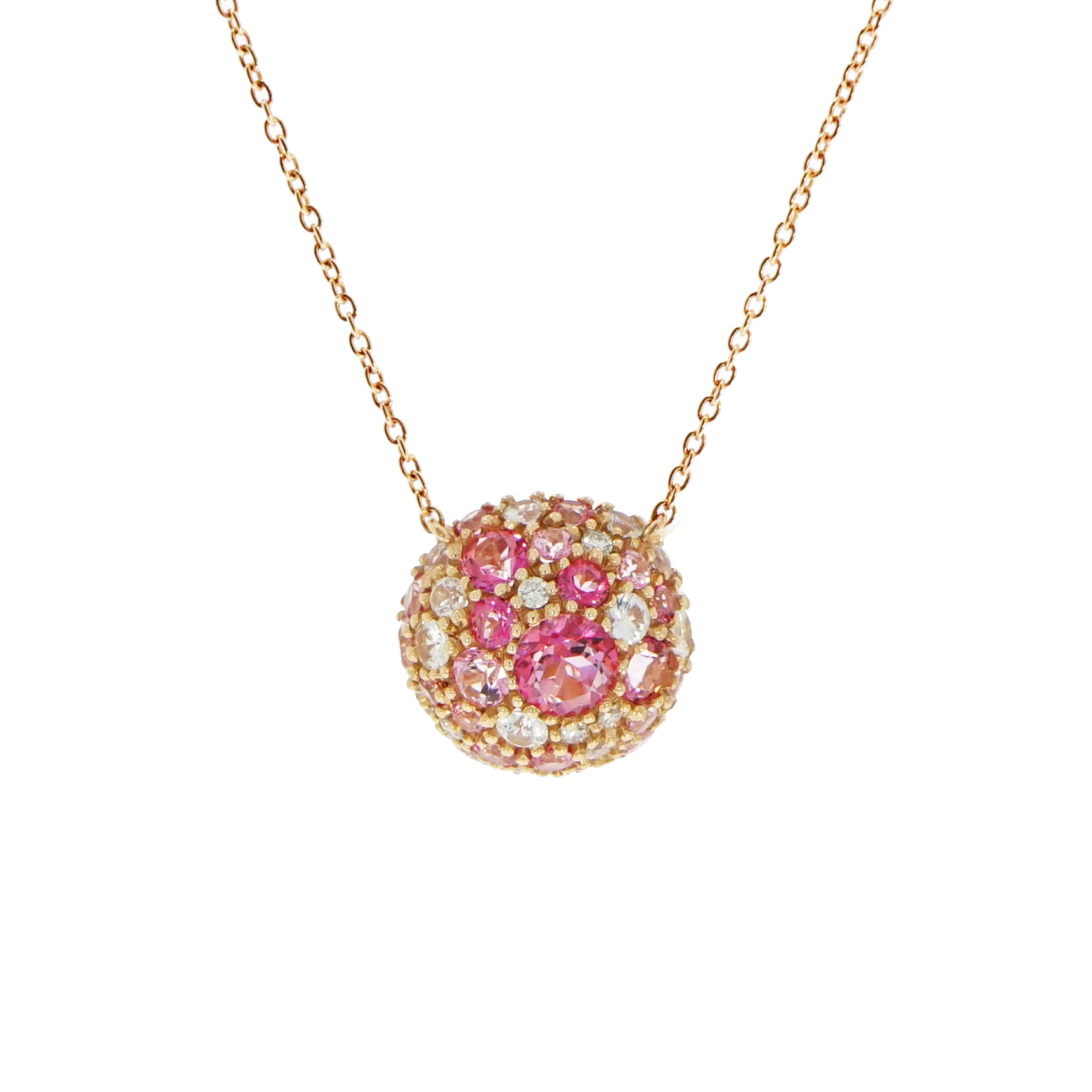 Brumani Jewelry - Baoba Bubbles Pink Tourmalines Necklace | Manfredi Jewels