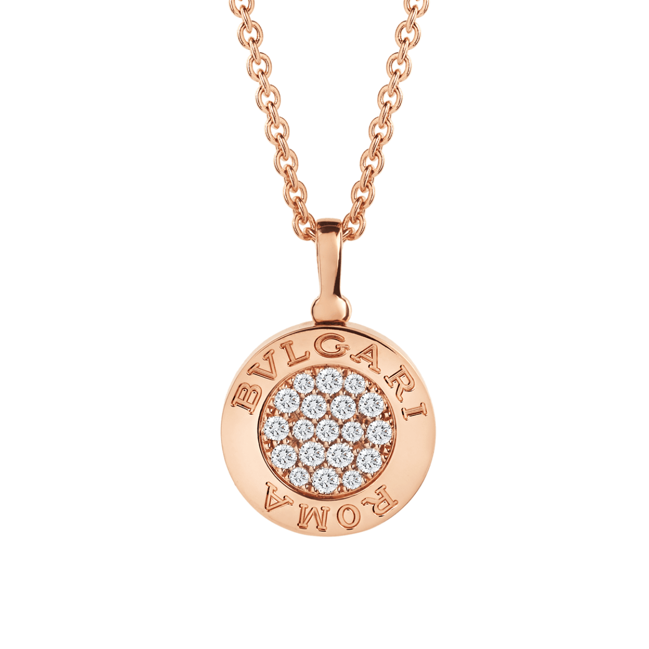 BVLGARI Jewelry - BVLGARI BVLGARI NECKLACE 350815 | Manfredi Jewels